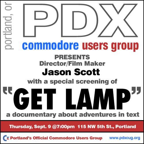 PDXCUG GetLamp Screening